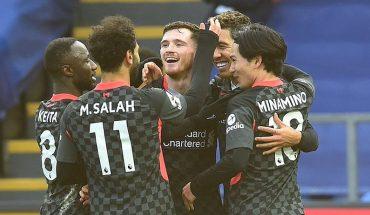 Liverpool humilló al Crystal Palace con un aplastante 7-0 con doblete desde la banca de Salah incluido
