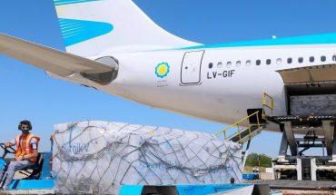 Llega a Argentina las primeras dosis de la rusa vacuna Sputnik V