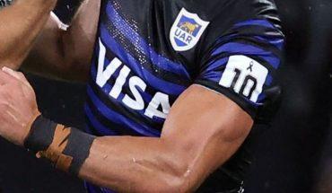Los Pumas lucieron un parche con el 10 en homenaje a Maradona ante Australia