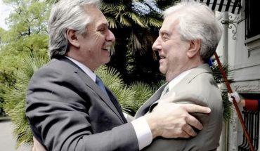 Los mensajes de Alberto Fernández y Cristina Kirchner tras la muerte de Tabaré Vázquez