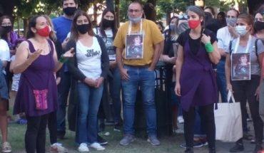 Marcha para exigir una ley que castigue la difusión de imágenes íntimas, tras la muerte de Belén San Román