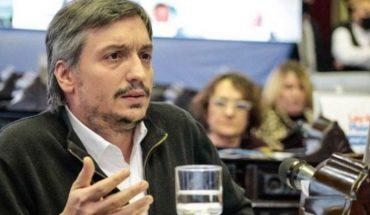 """Máximo Kirchner sobre el gabinete: """"Profesionales de la política sobran"""""""