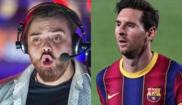 Mirá la reacción de Ibai Llanos cuando le preguntaron a Messi sobre él
