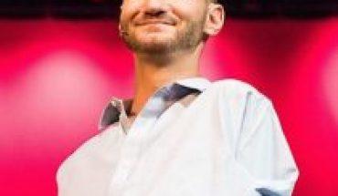 Nick Vujicic tendrá una presentación exclusiva para Chile vía streaming