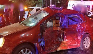 Patrulla y auto particular protagonizan choque en Morelia; hay 2 lesionadas