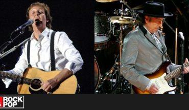 Paul McCartney confiesa que descartó una canción con Bob Dylan para su nuevo álbum — Rock&Pop