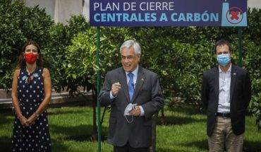 Presidente Piñera encabezó cierre de central a carbón Ventanas 1