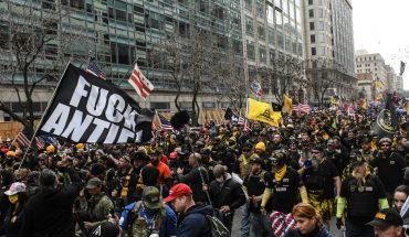 Protestas en Washington a favor de Trump terminan en apuñalamientos; hay varios heridos