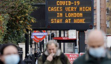 Reino Unido detecta cepa de COVID de Sudáfrica en su territorio 'más contagiosa'
