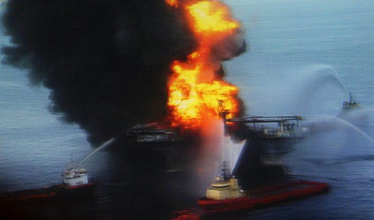 SRE gasta 5.3 mdd de indeminización de BP por derrame en personal