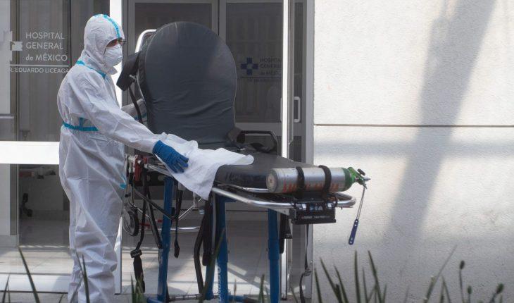 Se suman 953 muertes por COVID; 6 estados, en riesgo de pasar a rojo