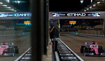 Sergio'Checo' Pérez abandona el Gran Premio de Abu Dabi
