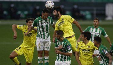 Sin Bravo Betis de Pellegrini empató de local con el Villarreal