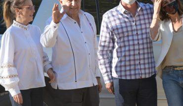 Supervisa AMLO carretera San Ignacio-Tayoltita en Sinaloa