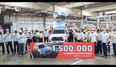 Toyota y un número récord: logró un millón y medio de unidades producidas