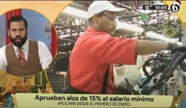Aprueban aumento de salarios | La Bola del 6