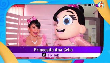 El desfile de modas de princesita Ana Celia