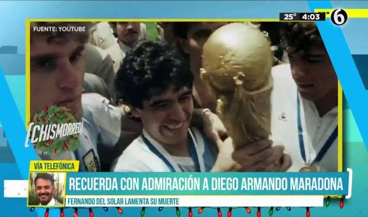 El duelo nacional de Argentina por Maradona | El Chismorreo