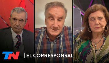 José Abadi y Angela Gentile con Nelson Castro en EL CORRESPONAL