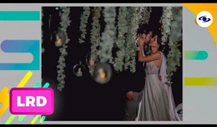 La Red: Así fue la atípica boda del cantante Alejandro González - Caracol Televisión