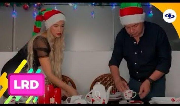 La Red: Carolina Sepúlveda y Lady Yuliana compartieron sus decoraciones navideñas - Caracol TV