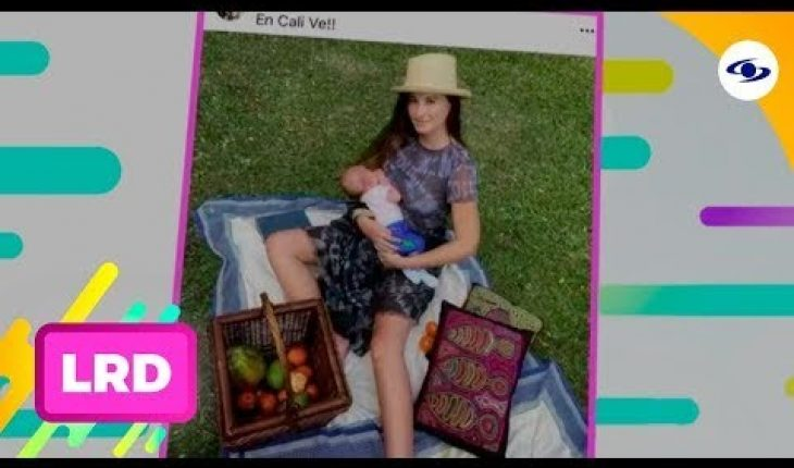 La Red: Esta famosa modelo será la madrina del hijo de Taliana Vargas - Caracol Televisión