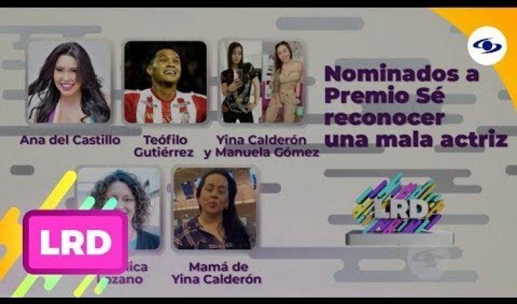 La Red: La Red entregó el premio sé reconocer una mala actriz- Caracol TV