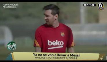 Messi queda fuera de la Champions | La Bola del 6