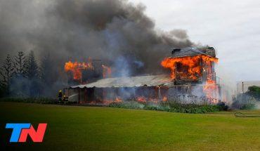 Se incendió la casa de Alan Faena en Punta del Este