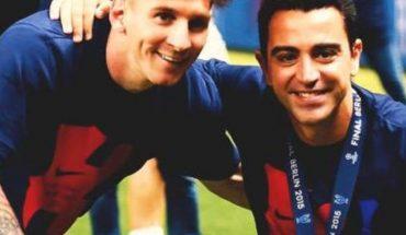 Xavi Hernández sería la clave para la permanencia de Messi