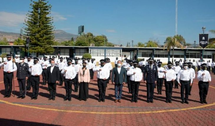 98 new officers to join Morelia Police from January 2021