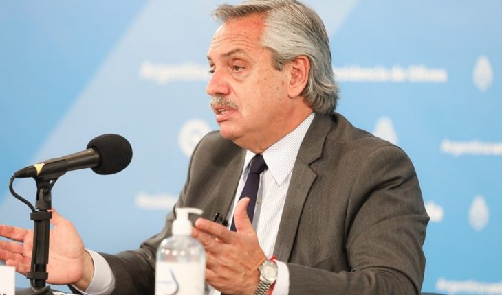 """Alberto Fernandez: """"We are fulfilling each of the commitments we have promised"""""""