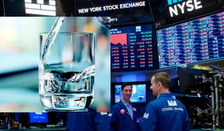 As a film, water began trading on the Wall Street futures market