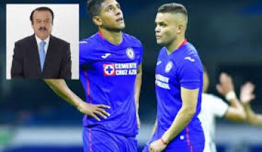Blue Cross players received pre-game calls with Pumas: Hector Huerta