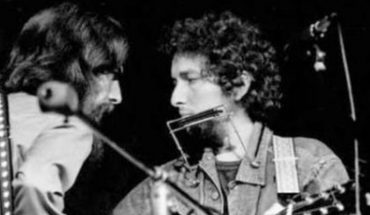 Bob Dylan launches sessions with George Harrison