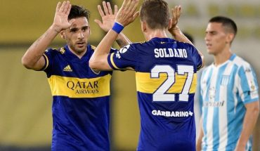 Boca beat Racing 2-0 at La Bombonera and qualified for semis
