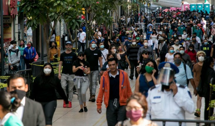 CDMX exceeds 21,000 COVID deaths; hospitals with 24% availability