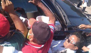 Campeche settlers intercept AMLO; ask to change Maya Train