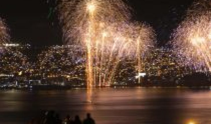 Closed beaches and relocation of pyrotechnics: advance contingency plan for New Year in Valparaiso