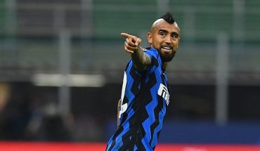 Conte confirmed Arturo Vidal's absence for the duel with Cagliari