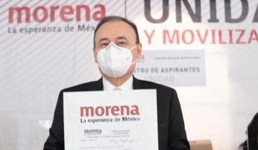 Durazo registers as Morena's pre-born in Sonora