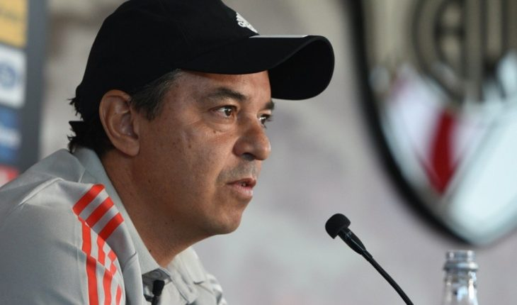 """Gallardo on the VAR and helps River: """"I don't get carried away by nonsense"""""""