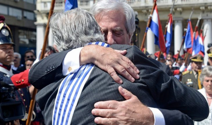 """""""He was a remarkable president because he never stopped being a doctor,"""" Mujica said of Vazquez"""