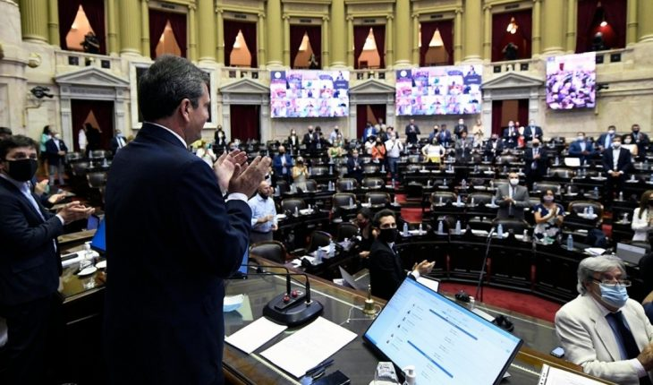 Legal abortion: started the historic day in Deputies