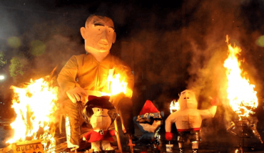 Maradona will be the protagonist of the traditional burning of La Plata dolls