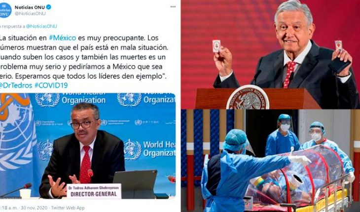 """Mexico is """"in a bad situation in the face of the covid-19 epidemic,"""" undesired"""