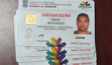 Michoacán applies permanent license, with limited application time