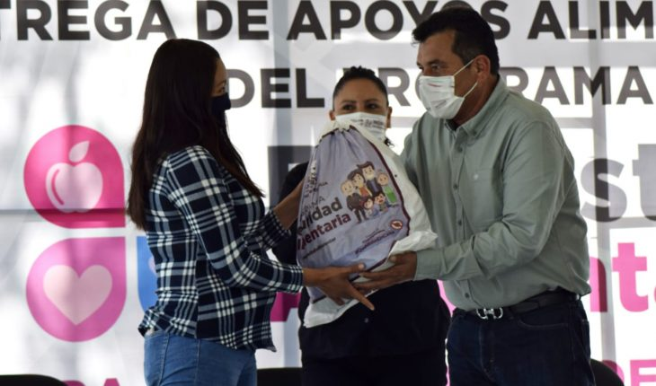 Morelia Government concludes 2020 financial year of the Food Welfare for Mothers Heads of Families program