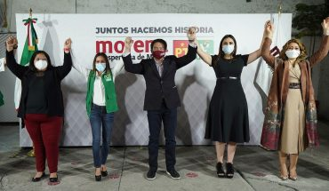 Morena will go in alliance with PVEM and PT to maintain a majority in San Lazarus