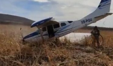 Plane falls in Guamúchil near Eustaquio Buelna dam